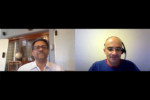 A Lightning Conversation with Alok K Sinha & Si Alhir